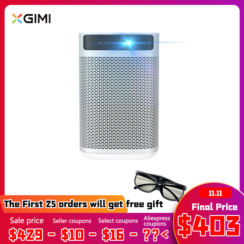 XGIMI Mogo projecteur Portable intelligent Android 9.0 Mini projecteur avec batterie 10400mAH Full HD DLP Portable Proyector