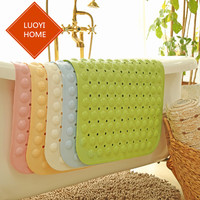 2017 new Non slip bath mats bathroom shower PVC bath door mat