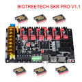 Bigtreetech Skr Pro V1.1 Scheda Del Controller 32Bit Wifi 3D Parti Della Stampante con TMC2208 Uart TMC2209 TMC2130 Vs Skr V1.3 Mks gen L