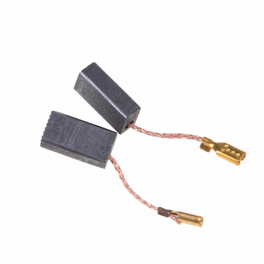 Spazzole di Carbone di ricambio Pezzi di Ricambio Per I Motori Elettrici Utensile Rotante 15*8*5 millimetri 10 Pcs Mini Trapano smerigliatrice elettrica