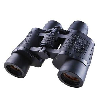 High Power HD profesjonalne lornetki 80 #215 80 10000M teleskop myśliwski optyczny ll Night Vision dla turystyki pieszej podróży wysokiej jasności tanie i dobre opinie maifeng CN (pochodzenie) IPX7 BAK4 80x80 Metal Centralny+odłączony