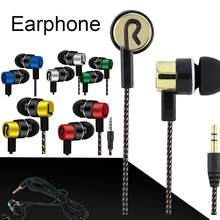 NEW Stereo Earphone Braided Wire Headset New Fashionable In Ear Music Reflective Line Decoration Comfortable Durable #W1(China)