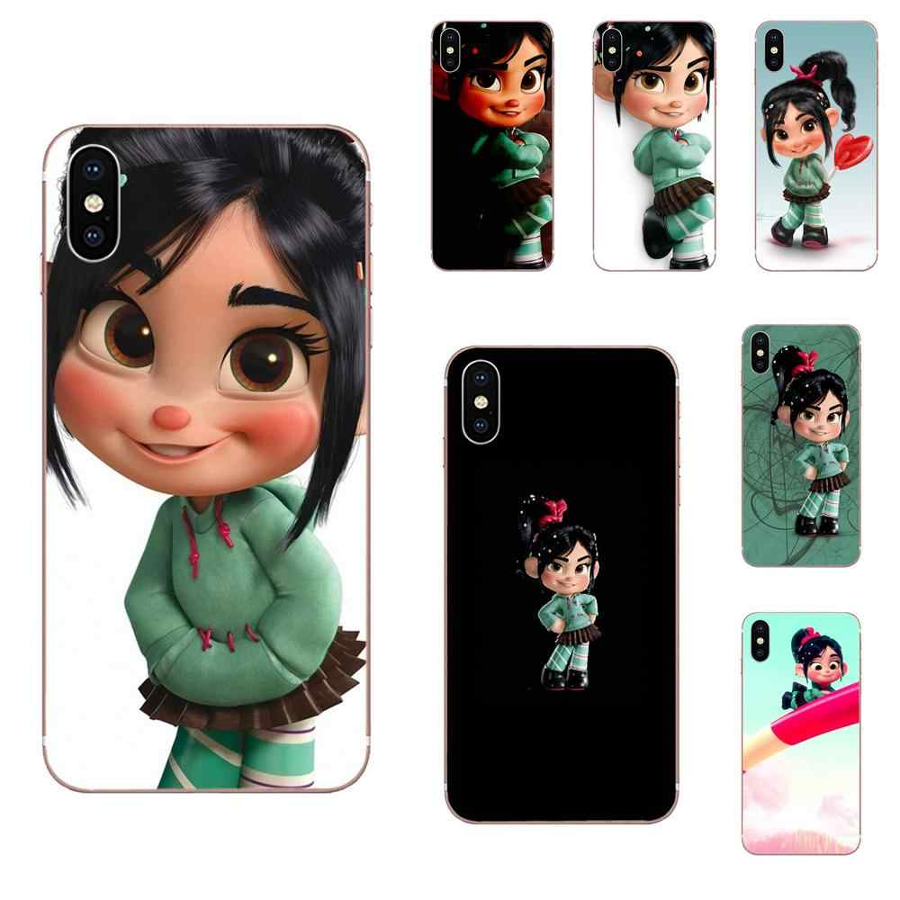 Vanellope Von Schweetz Wreck It Ralph For Samsung Galaxy Note 5 8 9 S3 S4 S5 S6 S7 S8 S9 S10 5G mini Edge Plus Lite