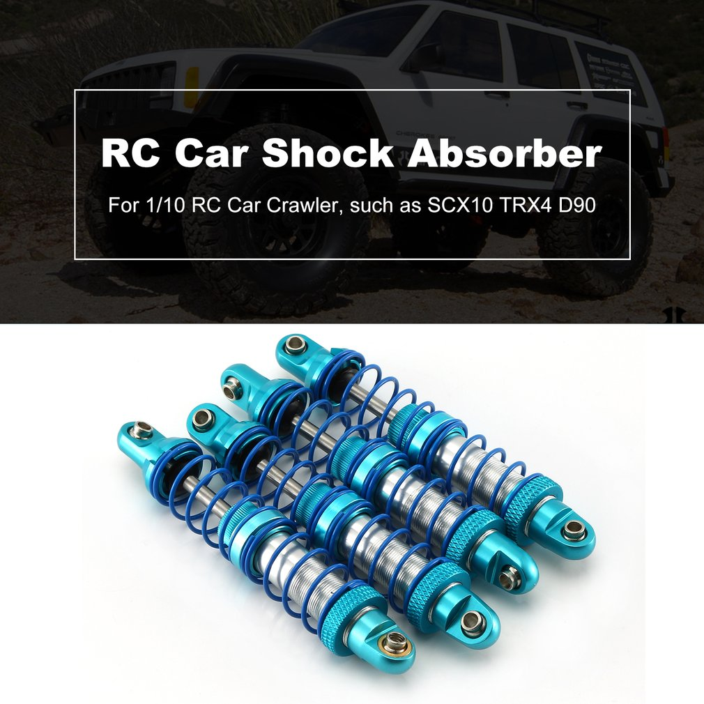 2Pcs Alloy RC Car 90mm Shock Absorber Damper For Axial TRX-4 1//10 1//8 Crawler