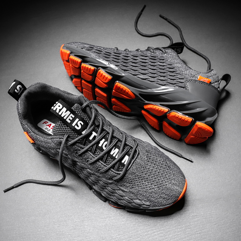 Men casual walking fashion sneakers breathable young boys new comfort jogging trainers|Men's Vulcanize Shoes| |  - title=