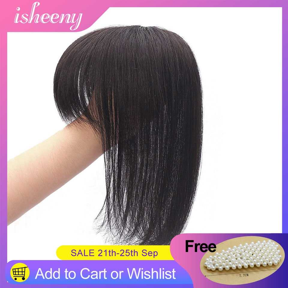 "8"" 10"" 12"" Black Brown Human Hair Topper Wig For Women 13*13 Lace Base With Clip In Hair Toupee Remy Hairpiece Natural Color"