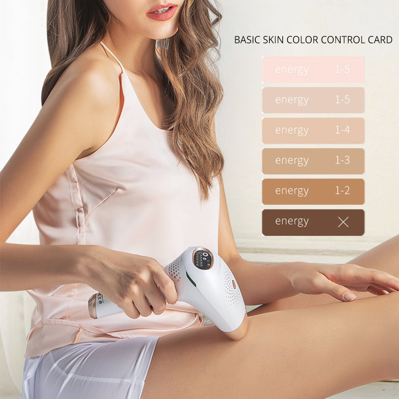 Image 4 - IPL Hair Remover Machine Laser Hair Removal System Epilator Woman Hair Trimmer Shaver Razor IPL Depilador Skin Rejuvenation-in Epilators from Home Appliances