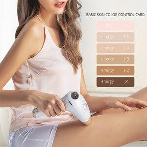 Image 4 - Urządzenie do depilacji IPL System depilacji laserowej depilator kobiece włosy trymer golarka Razor IPL Depilador odmładzanie skóry