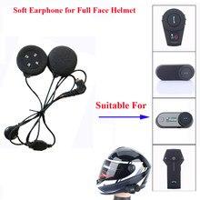 Freedconn acessórios da motocicleta interfone de ouvido macio mic para FDC-01VB T-COMVB TCOM-SC colo TCOM-02 rosto cheio capacete
