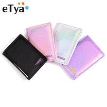ETya многофункциональный дорожный Держатель для паспорта, защитный кошелек, бизнес кредитный держатель для карт, кошелек, кожаный чехол для паспорта, сумка, кошельки