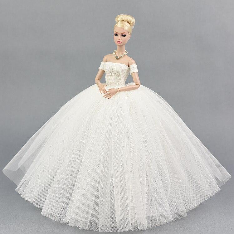 Den nya prinsessan för barbie dockklänning leksaker flickor - Dockor och tillbehör - Foto 4
