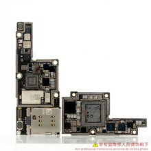 CNC לוח Baseband להחליף תרגיל עבור Iphone X 64GB 256GB Intel Qualcomm גרסה האם ICloud נעילה להסיר מעבד