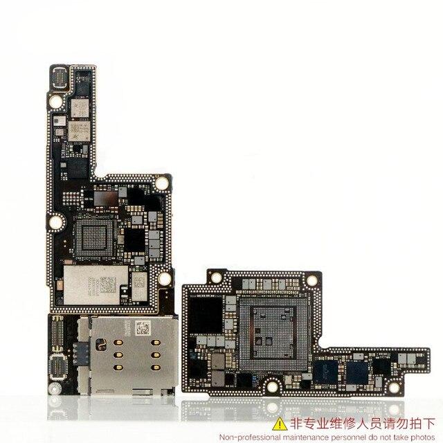 Placa cnc baseband swap broca para iphone x 64gb 256gb intel qualcomm versão placa mãe icloud desbloquear remover cpu