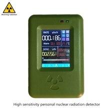 يوصي حساسية عالية الشخصية كاشف إشعاع النووية شاشة تعمل باللمس عملية بيتا ، غاما ، x راي geiger عدد الجرعات