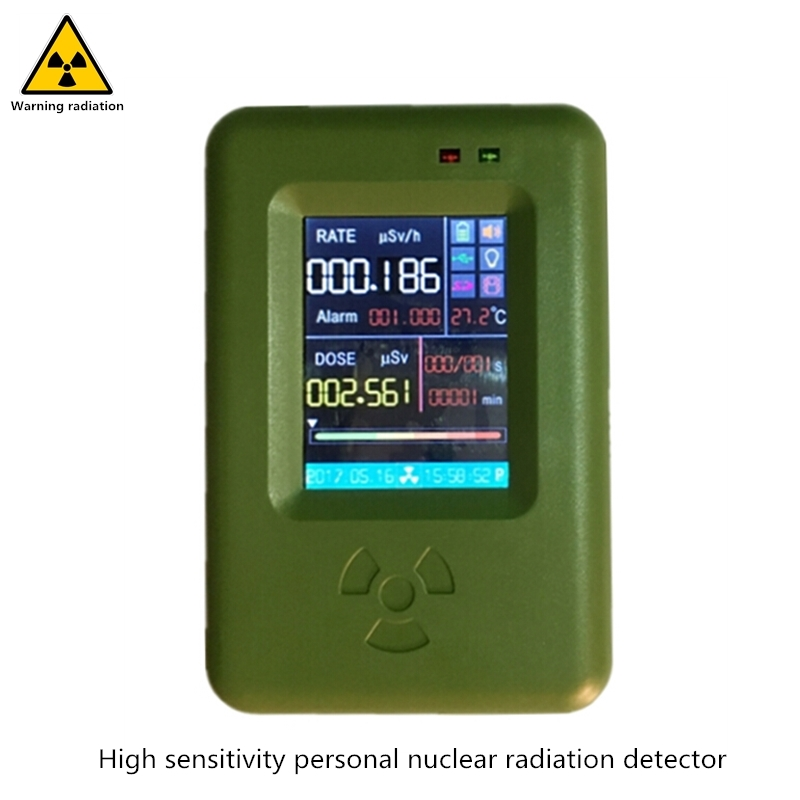 Recommend High Sensitivity Personal Nuclear Radiation Detector Touch Screen Operation Beta, Gamma, X Ray Geiger Count Dosimeter