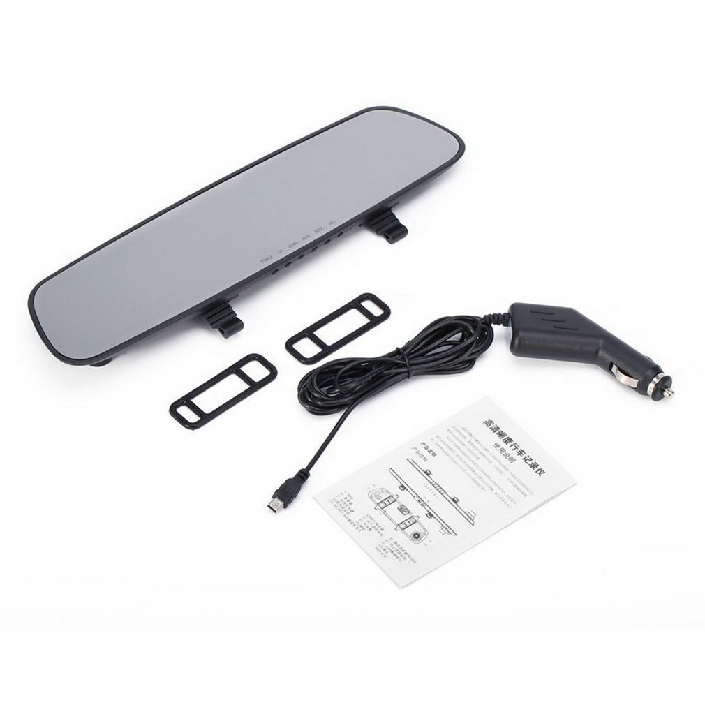 <font><b>2019</b></font> 2.7'' Car HD 1080P Ultra Slim HD LCD Video Recorder G-sensor <font><b>Dash</b></font> <font><b>Cam</b></font> Rearview Vehicle <font><b>Mirror</b></font> Camera DVR image