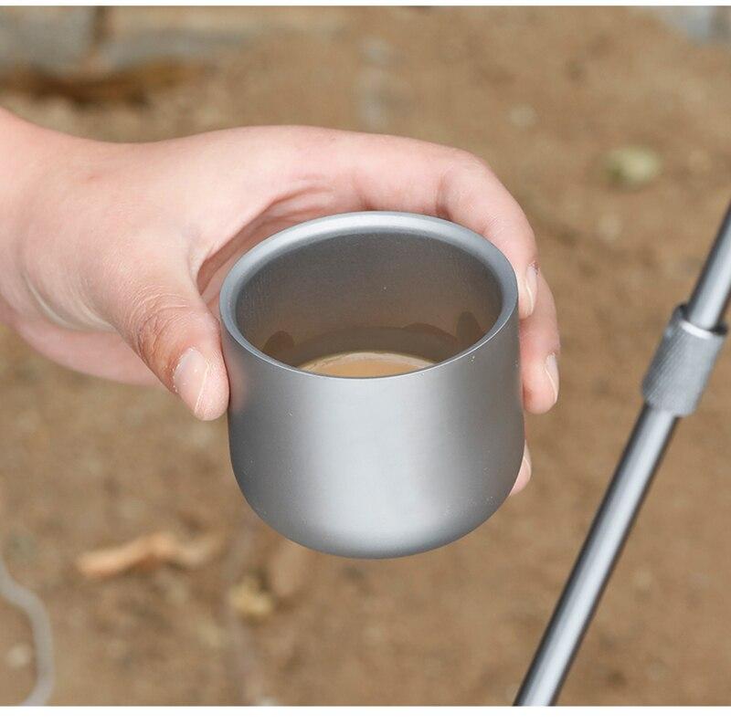de chá saudável caneca de café copos de acampamento acessórios