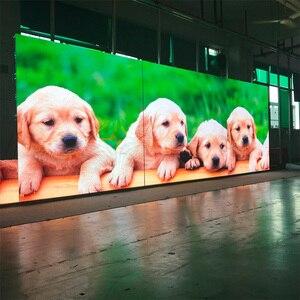 Image 5 - 500 × 1000ミリメートル104*208ドットダイカストアルミキャビネットP4.81屋外rgb led表示画面の広告ビデオウォールパネルレンタル