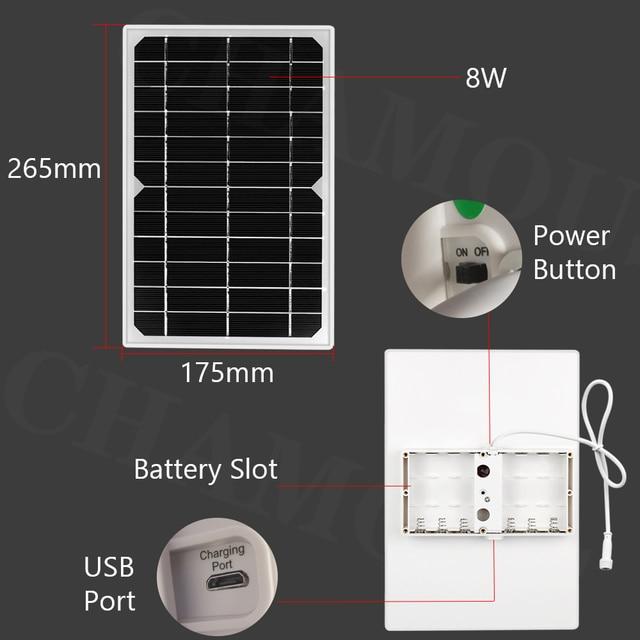 HISMAHO 1080P SIM Card 4G Solar Camera 8W Solar Panel WIFI Outdoor PTZ Camera H.265 Smart Security Monitor Speed Dome Camera 6