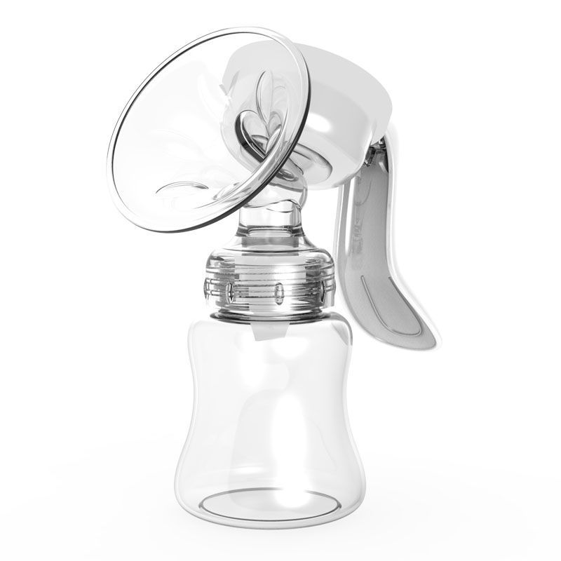 , Manual Breast Pump Large Suction Painless Maternal Postpartum Supplies Milking Breast Unplug Non-Electric,