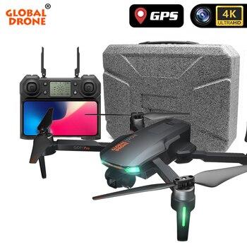 цена на GPS 4K Drone 2-Axis Gimbal Professional Dron with HD Camera Follow Me RTF RC Drones Quadrocopter VS ZEN K1 SG906 X35 F11 PRO
