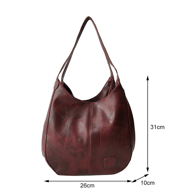 Vintage Women Hand Bag Designers Luxury Handbags Women Shoulder Bags Female Top-handle Bags Fashion Brand Handbag Bag Sac a Main 5