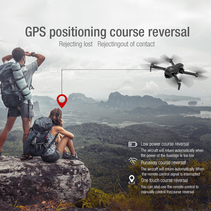 ZWN SG906 / SG906 Pro GPS Drone with Wifi FPV 4K HD Camera Two-axis anti-shake Self-stabilizing Gimbal Brushless Quadcopter Dron 4