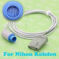 For 10PIN Nihon Kohden BSM 1101/210/3101/7100/8200 Oximeter monitor the ear /finger spo2 sensor,3M.