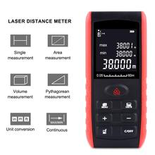 YIERYI 40M 60m 80m 100m Handheld Digita Laser Range Finder Professional Mini Ruler Tester Manual Distance Measuring Instrument