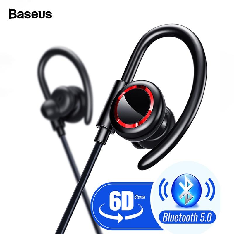 Baseus-écouteurs de téléphone sans fil, casque d'écoute sans fil de Sport, Bluetooth 5.0, casque pour iPhone Xiaomi, écouteurs de téléphone, casque mains libres