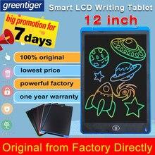12 cal inteligentny tablica do pisania rysunek ekran LCD tabletu Tablet do pisania cyfrowe tablety graficzne elektronicznych podkładka do pisma ręcznego z piórem