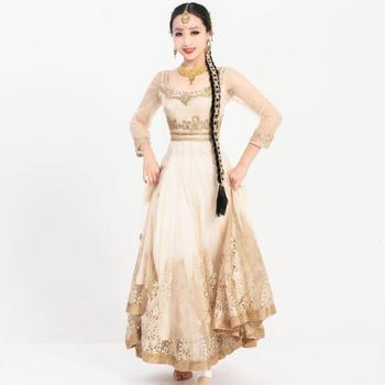 Hand-made India Pakistan – Anna Performance Dress Woman Embroideried Salwar Kameez Sets