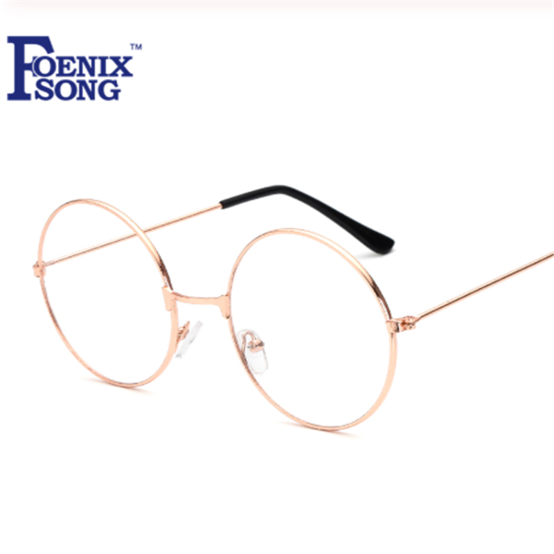 FOENIXSONG Round Reading Glasses Men Women Oculos De Grau Unisex New Vintage Clear Lens Eyeglasses Reader Eyewear HH1862