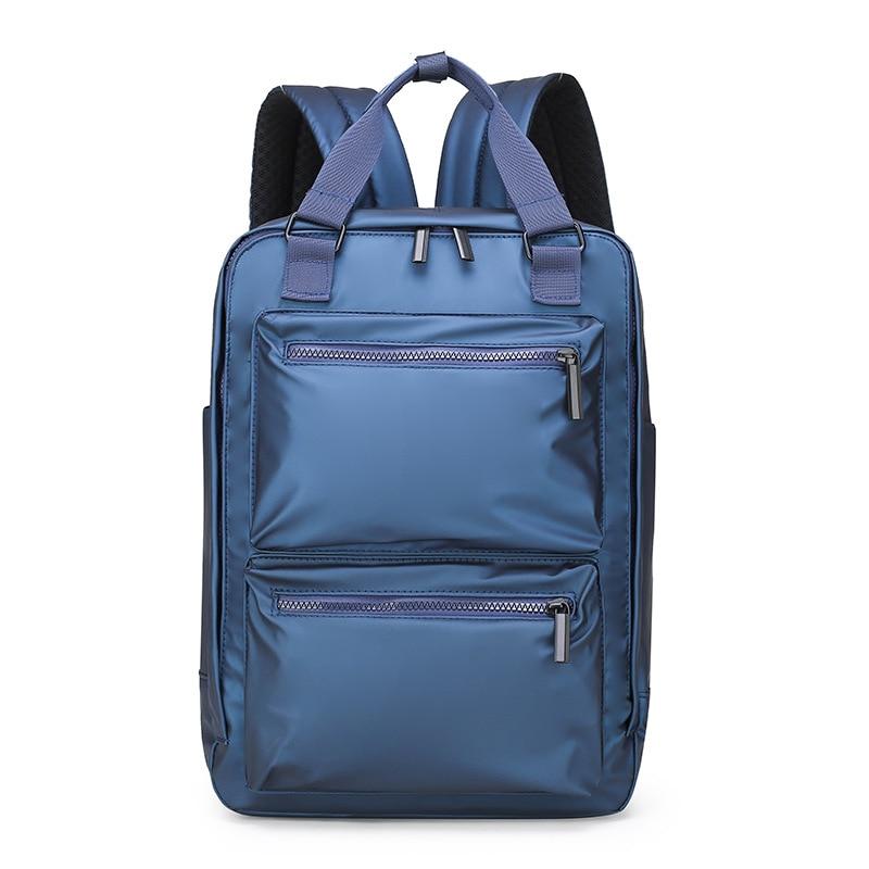 2019 Новая мужская сумка Многофункциональный водонепроницаемый нейлоновый тканевый Противоугонный мужской рюкзак сумка для компьютера