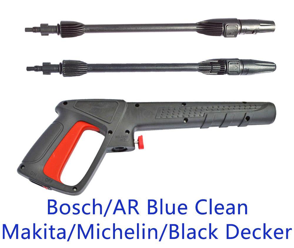Pressure Washer Spray Gun Car Washer Jet Water Gun Nozzle for AR Blue Clean Black Decker Bosch Michelin Makita Pressure Washer