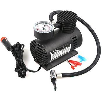 80% HOT SALES!!!Portable Auto Car 12V 300 PSI Air Compressor Electric Tire Inflator Pump Tool image