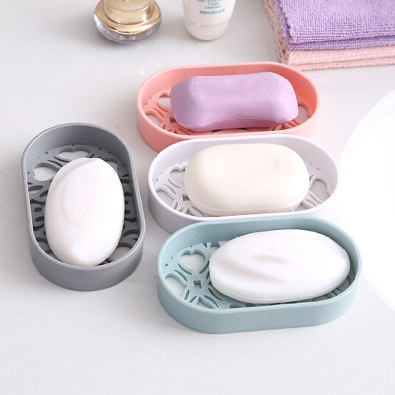Soap Dish Box Case Holder Container Home Bathroom Toilet Shower Travel Camping