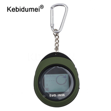 kebidumei Mini GPS Navigation Handheld USB Rechargeable GPS Location Tracker with Compass For Outdoor Travel Climbing