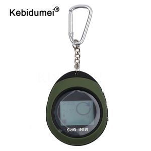 Image 1 - kebidumei Mini GPS Navigation Handheld USB Rechargeable GPS Location Tracker with Compass For Outdoor Travel Climbing