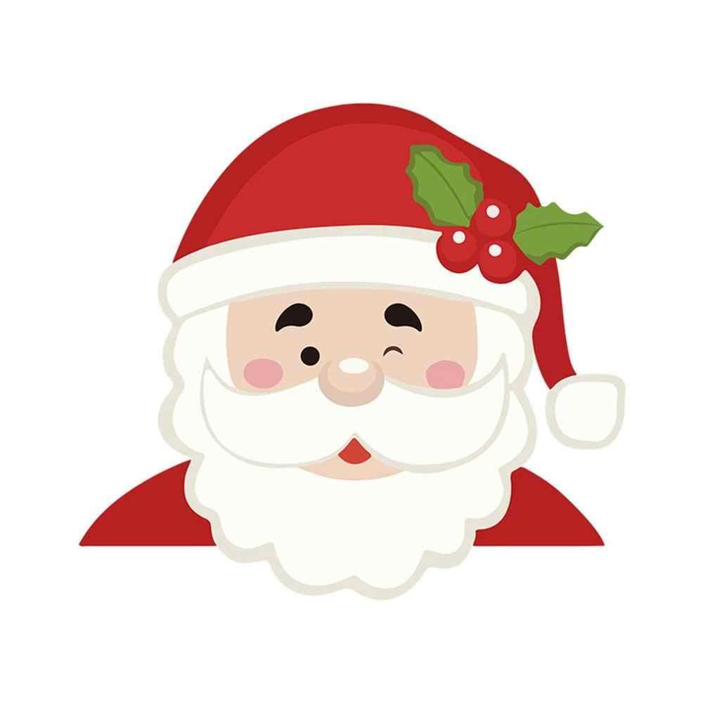זקן חג המולד אישית רכב מדבקות חג המולד קישוט אביזרי & מתנה לא ליפול ביום גשום
