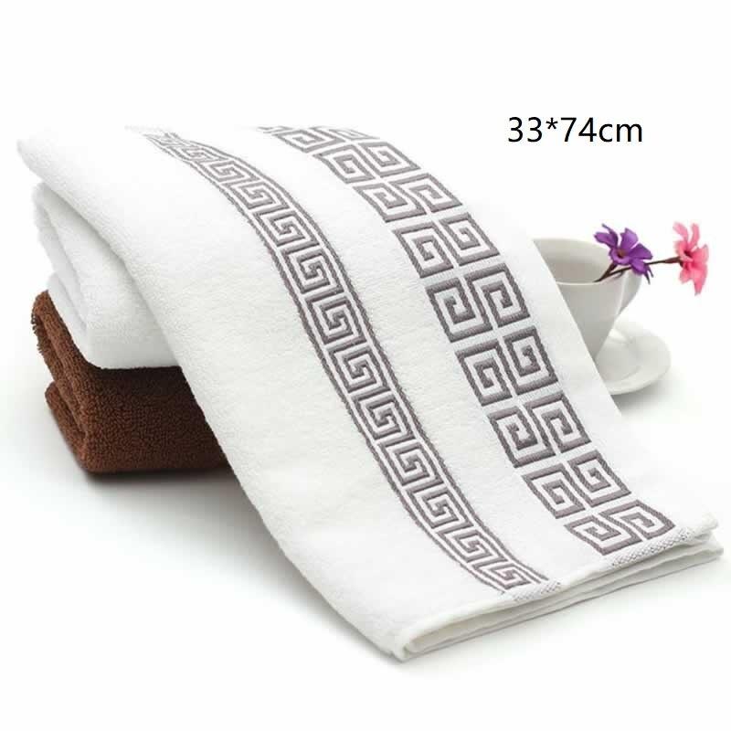 33x74cm Soft Cotton Face Towels Beach Towel Adults Handkerchief Hand Face Hand Sheet Men Women Basic Towels (Not Bath Towel)