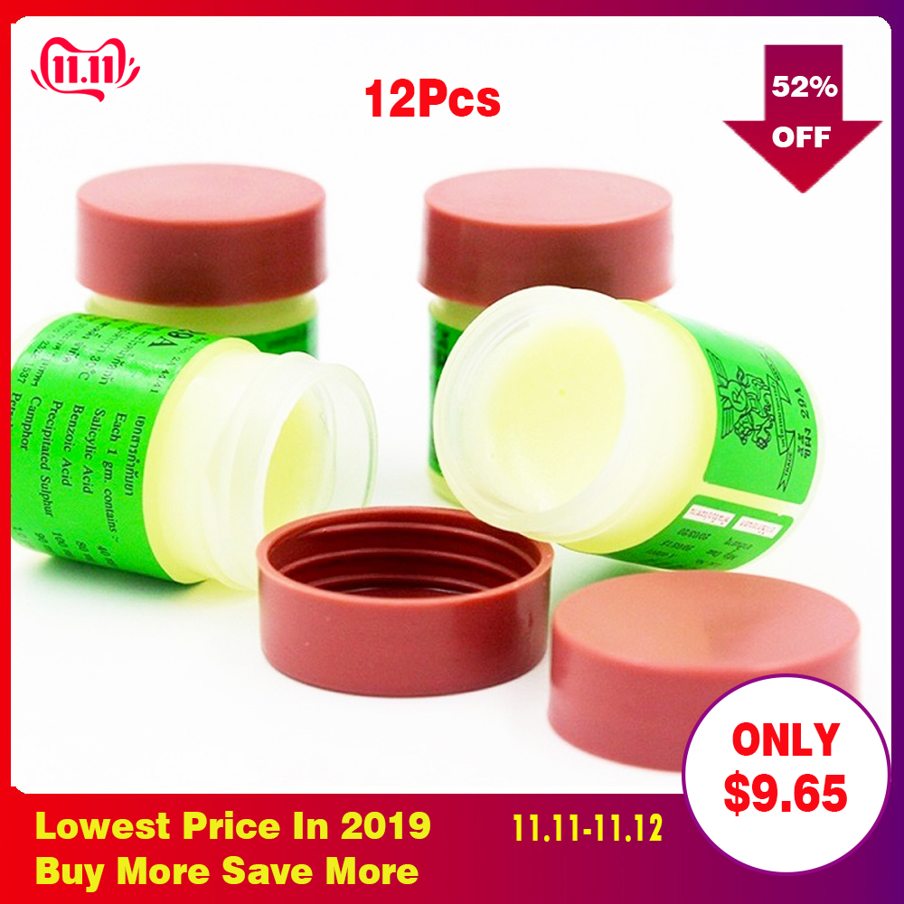 RUITONG 12 Pcs 29A Natural Ointment Psoriasi Eczma Cream Works Perfect For All Kinds Of Skin Problems Patch Dropshipping-in Patches from Beauty & Health