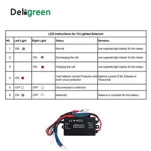 Image 3 - QNBBM 1S Attivo di Bilanciamento Della Batteria per li Ion li po Lifepo4 lTO 18650 FAI DA TE Batterie E Accumulatori Con INDICATORE LED