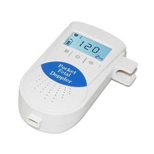 Image 3 - جهاز مراقبة دوبلر الجنين محمول جهاز مراقبة نبضات قلب الطفل للاستخدام المنزلي جهاز كشف الموجات فوق الصوتية للجنين قبل الولادة صوت الطفل