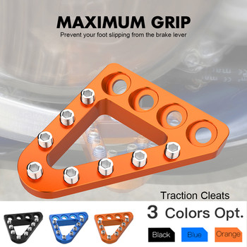 NICECNC Adjustable Rear Brake Pedal Step Tip For KTM 125 150 250 300 350 450 500 SX SXF XC XCF EXC EXCF XCW TPI 6D 2015-2020 - discount item  20% OFF Motorcycle Parts