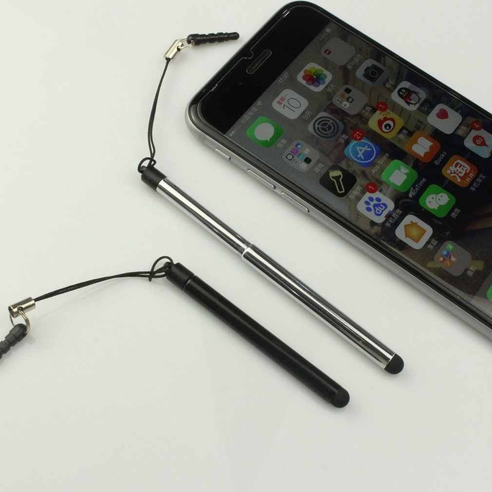 Chowany uniwersalny rysik do ekranu dotykowego rysik pojemnościowy dla inteligentnego tablet z funkcją telefonu dla iPad punkt okrągły cienka końcówka