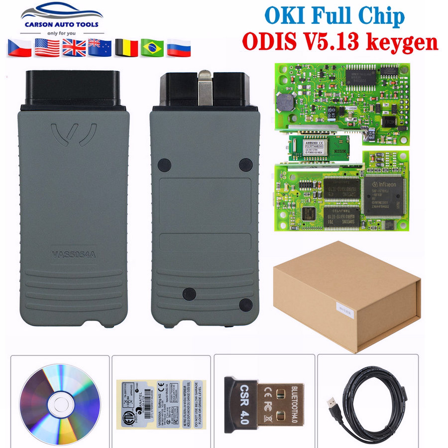 Vas6154 Odis 5.03/V5.1.3 Free Keygen Vas5054a V5.1.3 Oki Full Chip Vas 6154 WIFI &Bluetooth VAS5054 Support UDS Diagnostic