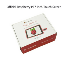 רשמי 7 אינץ מגע מסך עבור פטל Pi 3 דגם B/פטל Pi 3 B + (B בתוספת) /פטל Pi 4
