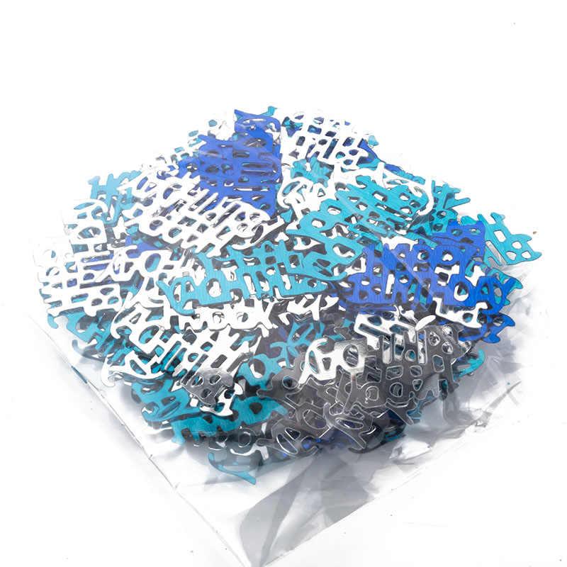 1 حقيبة النثار الأولى عيد صبي حزب الديكور رمي عيد ميلاد سعيد الديكور للأطفال Confeti