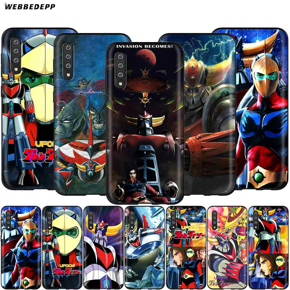 Webbedepp UFO Robot Grendizer สำหรับ Samsung Galaxy S7 S8 S9 S10 Plus Edge หมายเหตุ 10 8 9 A10 A20 a30 A40 A50 A60 A70